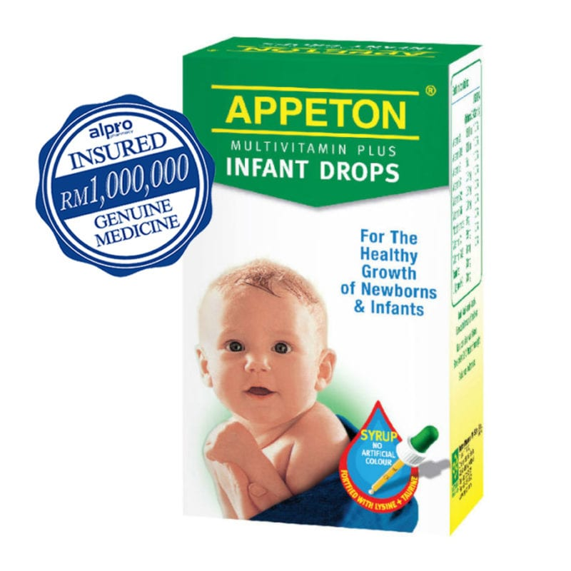 Appeton Multivit. Plus Infant Drops 30ml