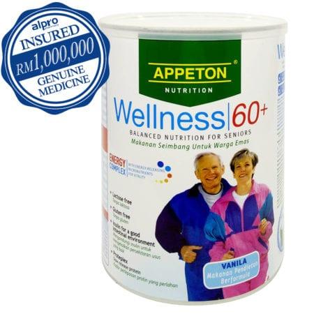 Appeton Wellness 60+ Energy Complex - Vanilla (450g)
