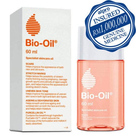 Bio-oil Purcellin Oil (60ml) Mfg Date: 04/2019