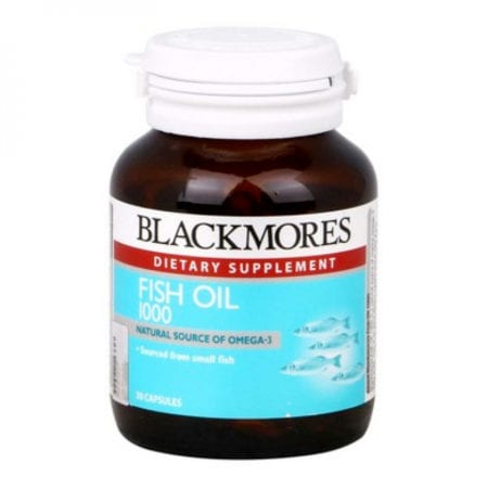 Blackmores Fish Oil 1000 (30's) Exp Date: 09/2021