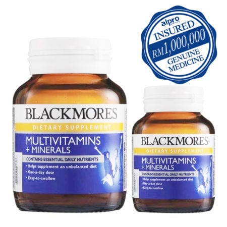 Blackmores Multivitamins + Minerals (120s + 30s) (exp. Date: 08/2021)