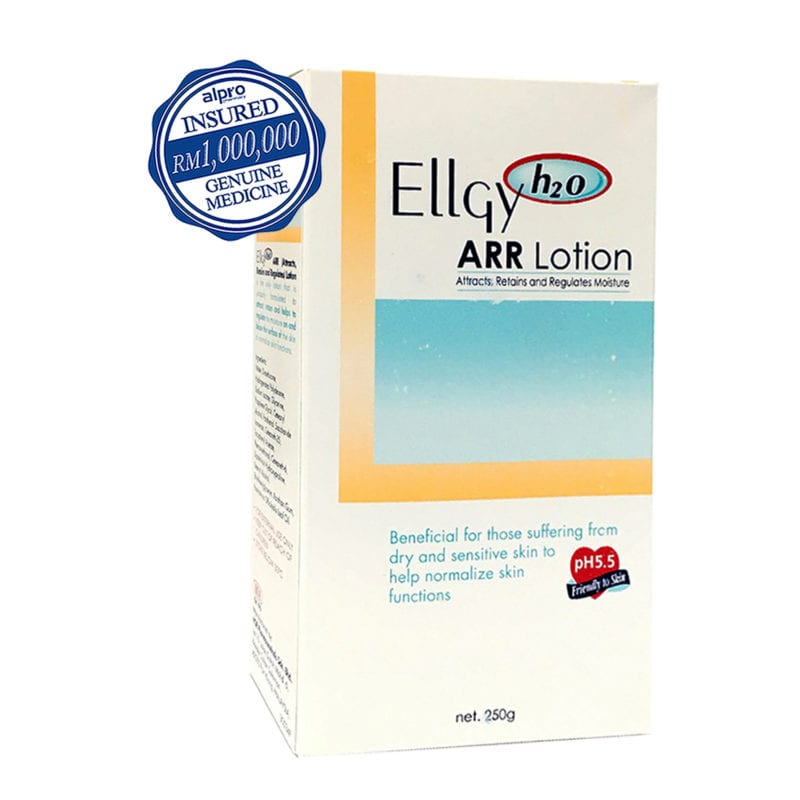 Ellgy H2o Arr Lotion (250g) Exp. Date: 01/2023
