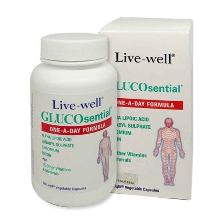 Live-well Glucosential 60s