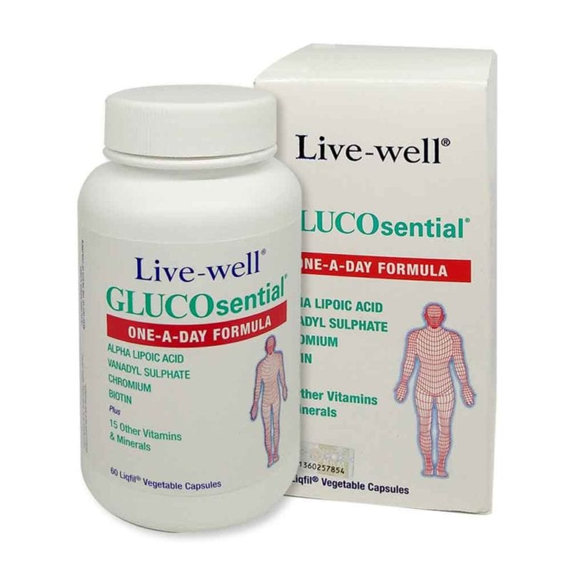 Live-well Glucosential (60s)