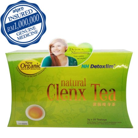 Nh Detoxlim Natural Clenx Tea (3g X 20s)- Exp Date 09/2021