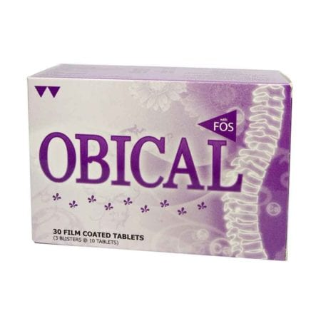 Obical Calcium Tablets For Pregnant Women 30's (exp Date: 06/ 2022)