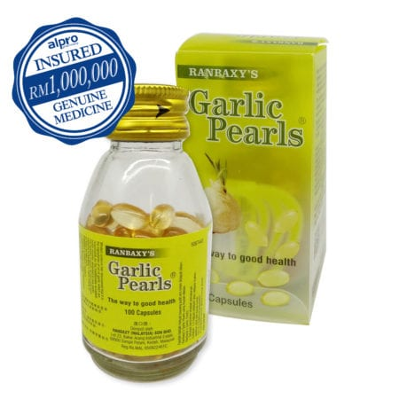 Ranbaxy's Garlic Pearls (100s)
