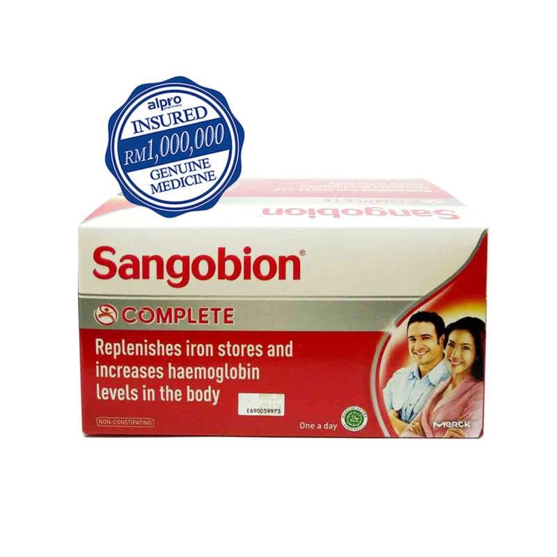 Sangobion (25 X 4s) Exp Date: 03/2022