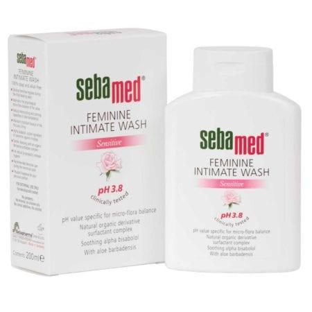 Sebamed Feminime Wash Sensitive Ph 3.8 200ml