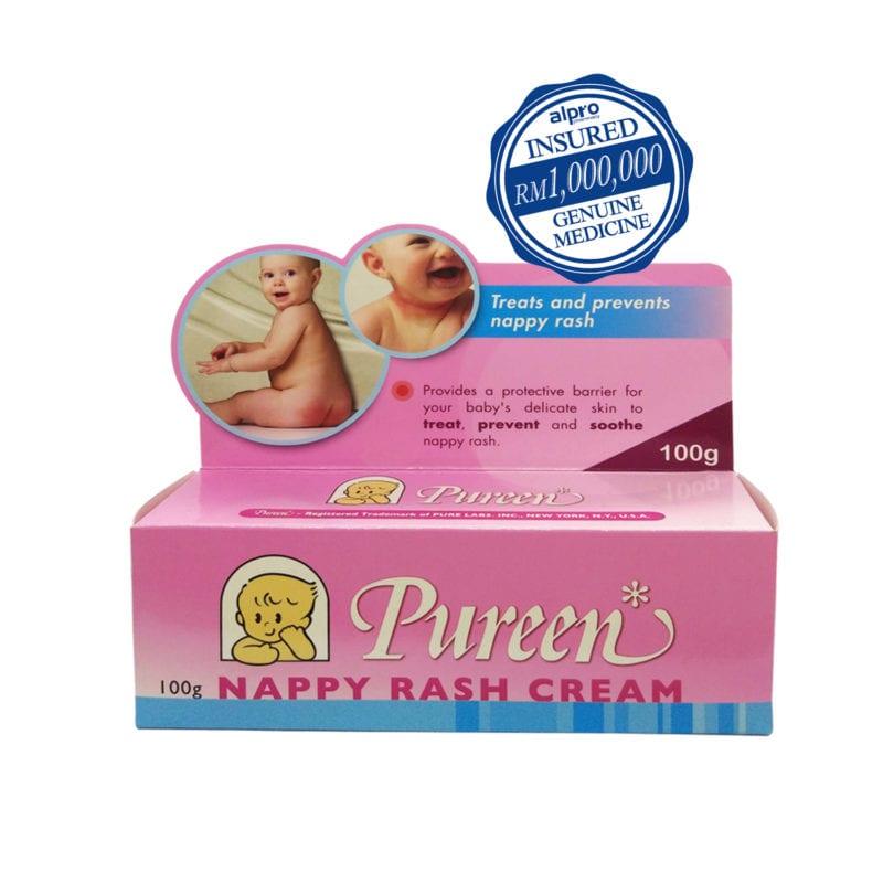 Pureen Nappy Rash Cream (100g)