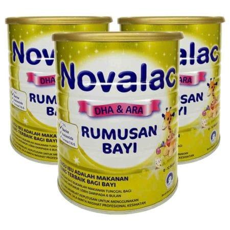 Novalac Gold Dha & Ara Infant Formula (800g)