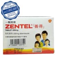 Zentel Tablets (200mg X 2s X 2)