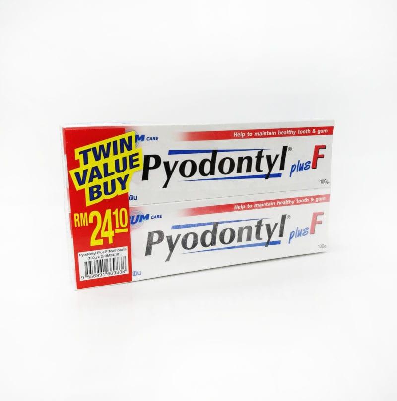 Pyodontyl Plus F 2x100g
