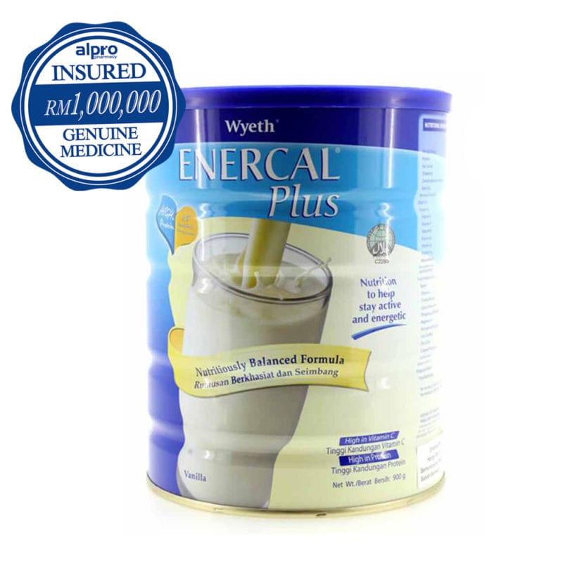 Wyeth Enercal Plus Vanilla (900g)