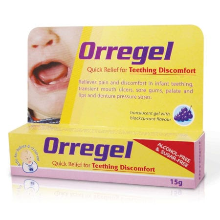 Orregel Baby Teething Discomfort 15g