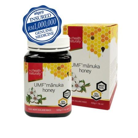 Nzhealth Naturally Umf15+ Manuka Honey 500g (exp Date: 02/2022)