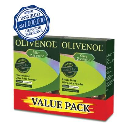 Olivenol Plus (2 X 60's) [value Pack]