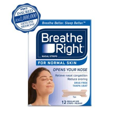 Breathe Right Normal Skin (12's)