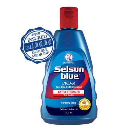 Selsun Blue Pro-x Extra Strength Shampoo (200ml)
