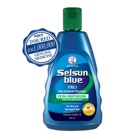 Selsun Blue Pro Extra Moisturizing Shampoo (200ml)
