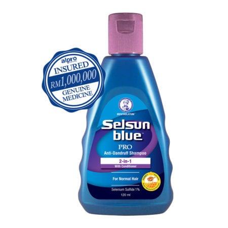 Selsun Blue 2 In 1 Treatment Shampoo (120ml)