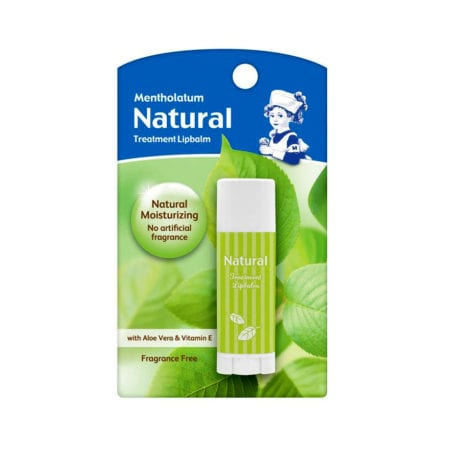 Mentholatum Natural Treatment Lip Balm (3g)