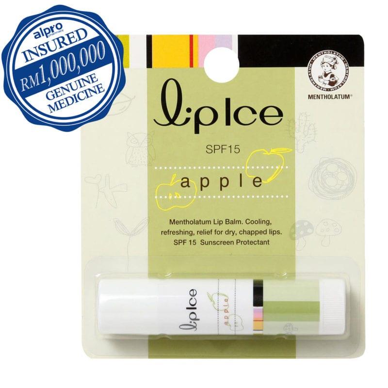 Mentholatum Lipice Spf15 Apple 3.5g