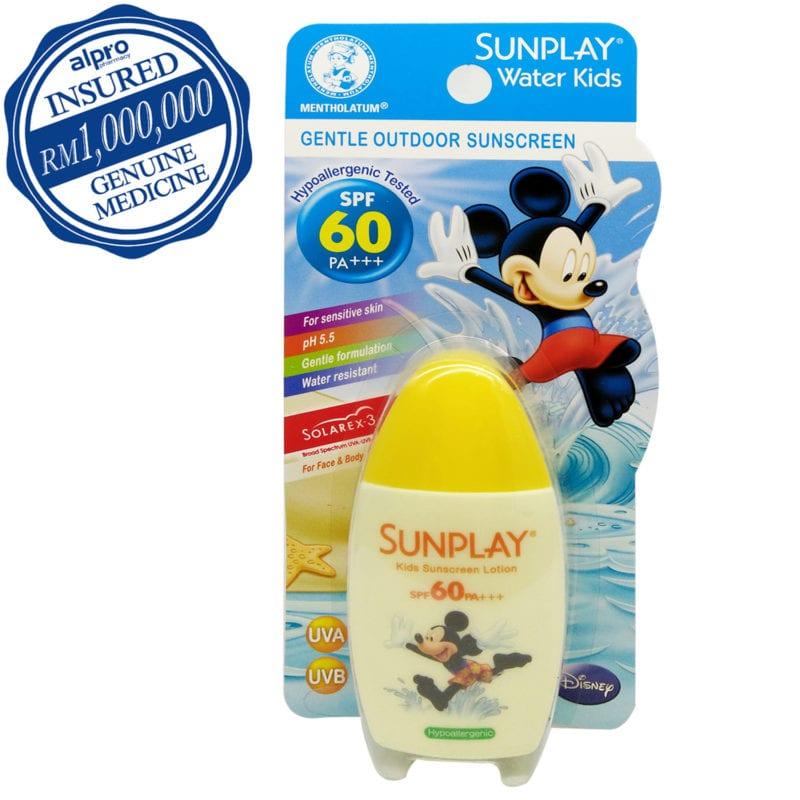 Sunplay Water Kids Disney Spf60 35g