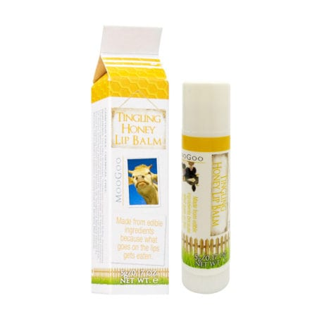 Moogoo Lip Balm - Tingling Honey (5g)