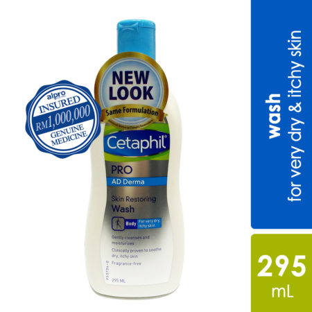 Cetaphil Pro AD Derma Body Wash 295ml