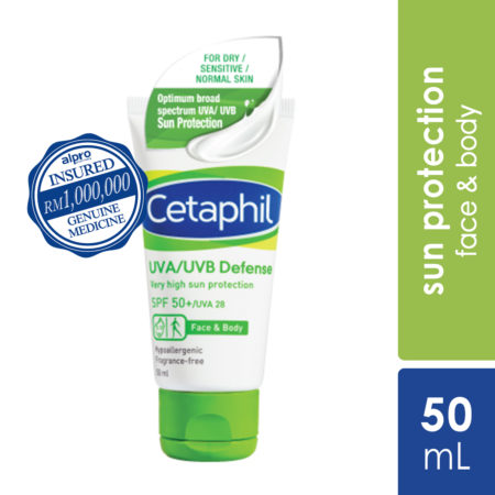 Cetaphil UVA/UVB Defense Cream 50ml