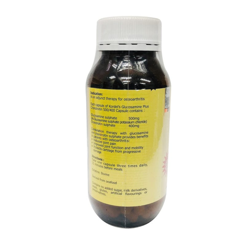 Kordels Glucosamine+chondroitin 500/400 2x90s