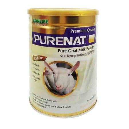 Greenfood Purenat Goat Milk Powder (800g) Exp. Date: 02/2022