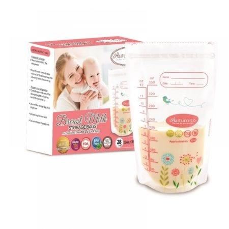 Autumnz Breastmilk Storage Bags (7oz X 28 Pcs)