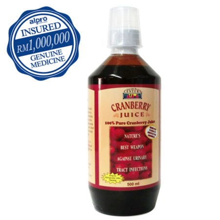 21st Century Cranberry Juice (500ml)
