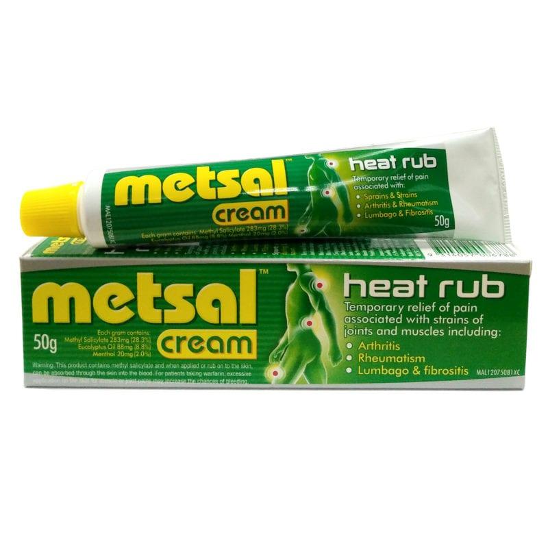 Metsal Heat Rub Cream (50g)