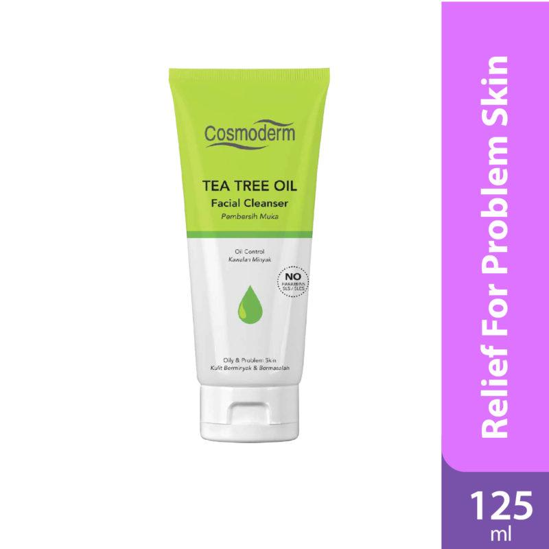 Cosmoderm Tea Tree Facial Cleanser 125ml