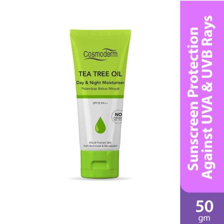 Cosmoderm Tea Tree Day/night Moisturiser 50gm