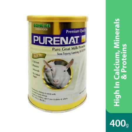 Purenat Premium Goat Milk Powder 400g