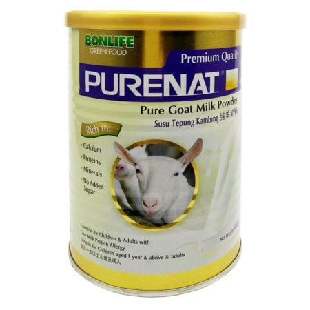 Greenfood Purenat Goat Milk Powder (400g) Exp Date 02/2022