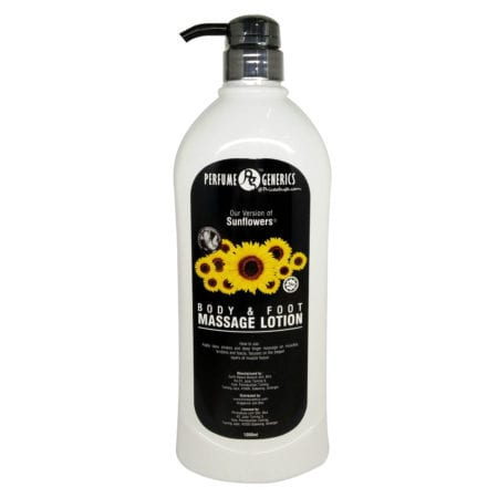 Pg Sunflower Body & Foot Massage Lotion (1000ml) Exp. Date: 06/2022