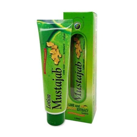 Mustajab Lime And Ginger Extract Lotion (130ml)
