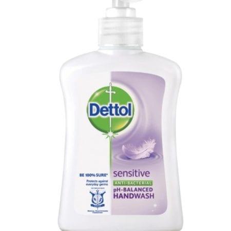 Dettol Sensitive Anti Bacterial Handwash (250ml)