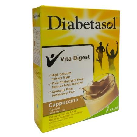Diabetasol Cappuccino 180g