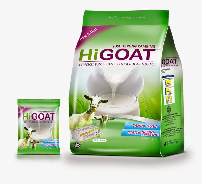 Hi-goat High Protein (21g X 15's)