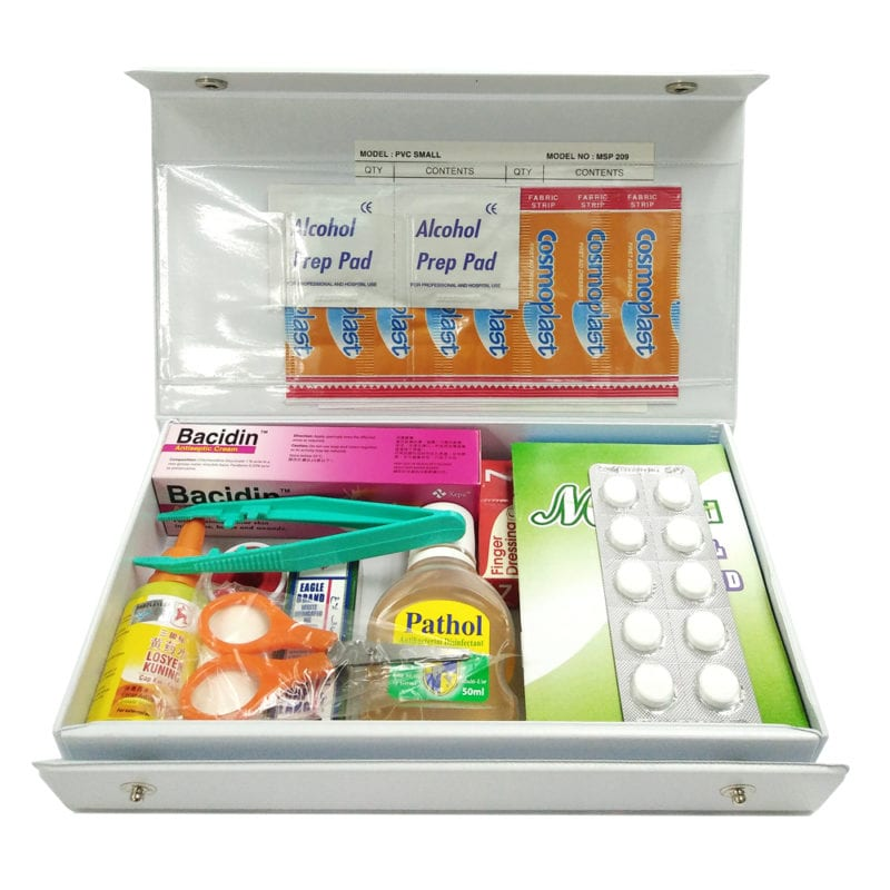 Medishield First Aid Kit Small Equipped Mps119