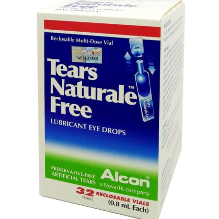 Alcon Tears Naturale Free Lubricant Eye Drops (32s) Exp. Date: 10/2020