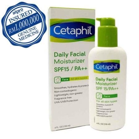 Cetaphil Daily Facial Moisturizer Spf15 (118ml) Exp. Date: 09/2021