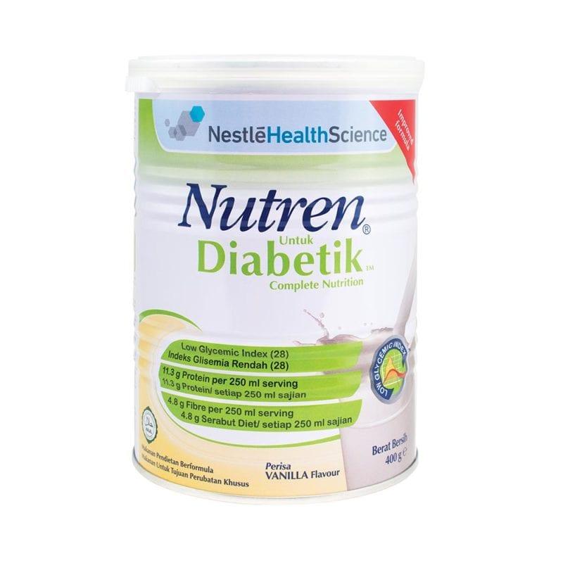 Nestle Nutren Diabetik Complete Vanilla 400g