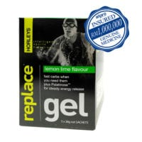 Horleys Replace Gel - Lemon Lime (38g X 5) Exp. Date 06/2020